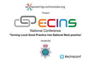 National Conference 'Turning Local Good Practice into National Best practice'