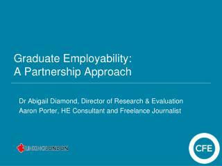 Graduate Employability: A Partnership Approach