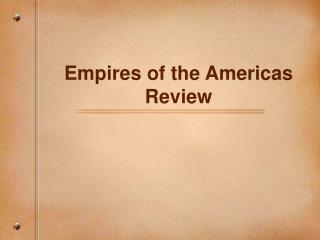 Empires of the Americas Review