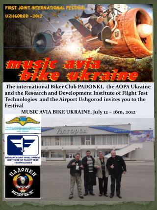 Location : Ushgorod Ukraine (ICAO: UKLU) Time period  July 12 - 15 Juli 2012 Arrival flights to Ushgorod: July,