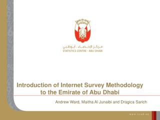 Introduction of Internet Survey Methodology to the Emirate of Abu Dhabi