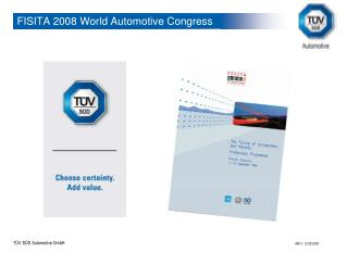 FISITA 2008 World Automotive Congress
