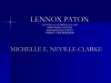 LENNOX PATON COUNSEL  ATTORNEYS AT LAW FORT NASSAU CENTRE ...