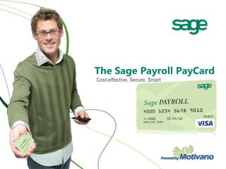 The Sage Payroll PayCard