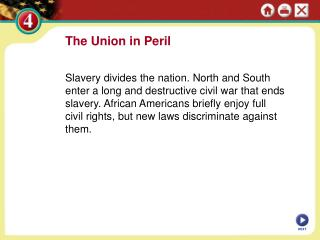 The Union in Peril