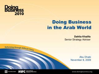 Doing Business in the Arab World