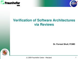 Verification of Software Architectures via Reviews