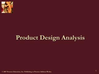 Product Design Analysis