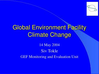 Global Environment Facility Climate Change