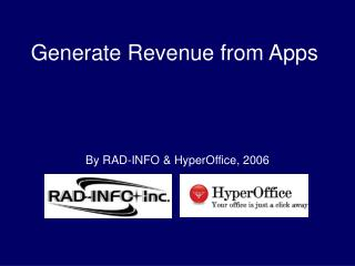 Generate Revenue from Apps