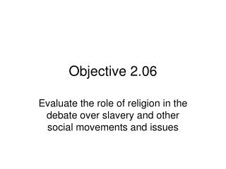 Objective 2.06