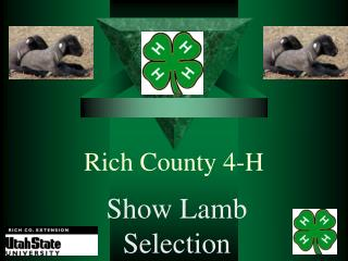 Rich County 4-H