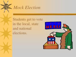 Mock Election
