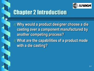 Chapter 2 Introduction