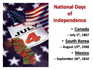 National Days of Independence