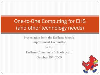 One-to-One Computing for EHS (and other technology needs)