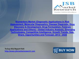 JSB Market Research : Biomarkers Market