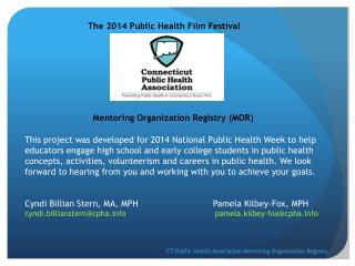 The 2014 Public Health Film Festival