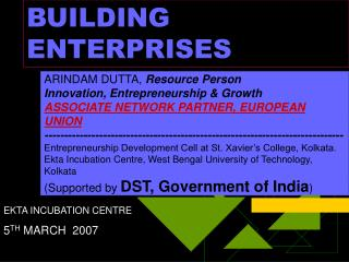 BUILDING ENTERPRISES