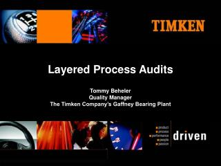 Layered Process Audits