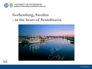 Gothenburg, Sweden - in the heart of Scandinavia