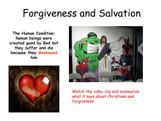 Forgiveness and Salvation