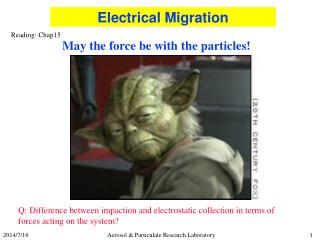 May the force be with the particles!