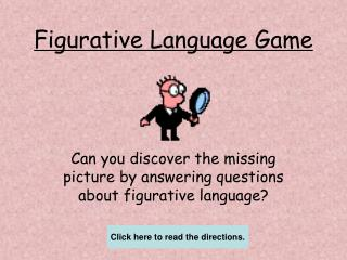 Figurative Language Game