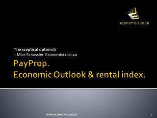 PayProp . Economic  Outlook &  rental  index.