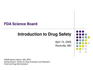 FDA Science Board