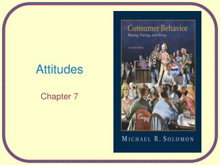 Attitudes Chapter 7