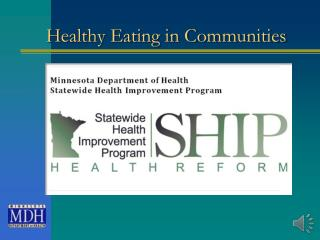 Healthy Eating in Communities
