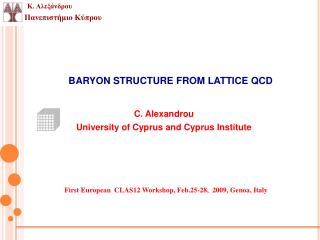 BARYON STRUCTURE FROM LATTICE QCD