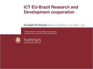 ICT EU-Brazil Research and Development cooperation