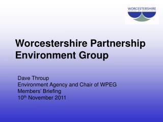 Worcestershire Partnership Environment Group