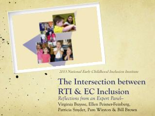 The Intersection between RTI & EC Inclusion