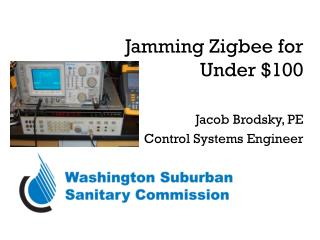Jamming Zigbee for Under $100