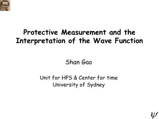 Protective Measurement and the Interpretation of the Wave Function
