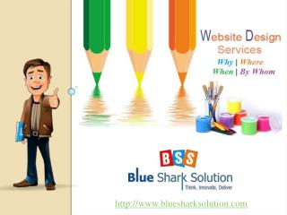 Website Design Services : Why, Where, When and By Whom.