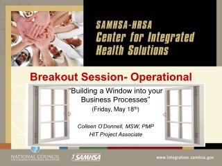 Breakout Session-  Operational
