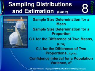 Sampling Distributions and Estimation   (Part 2)