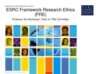 ESRC Framework Research Ethics (FRE)