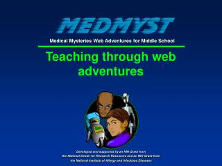 Teaching through web adventures