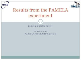 Results from the PAMELA experiment