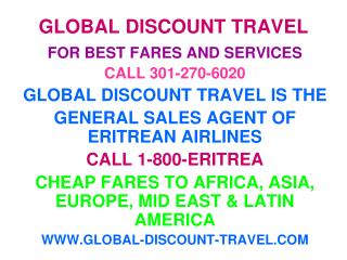 GLOBAL DISCOUNT TRAVEL