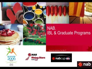 NAB. IBL & Graduate Programs