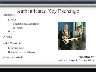 Authenticated Key Exchange