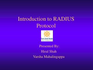 Introduction to RADIUS Protocol
