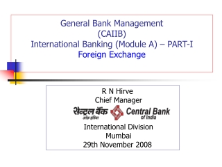 BASICS OF INTERNATIONAL LETTERS OF CREDIT