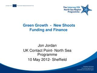 Green Growth  -  New Shoots Funding and Finance